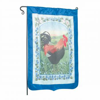 Flag Blue Nylon Rooster 29