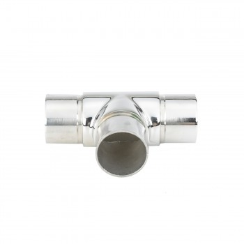 <PRE>1.5inch Tee Handrail Fitting Handicap Connector Stainless </PRE>zoom4