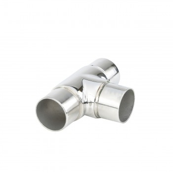 <PRE>1.5inch Tee Handrail Fitting Handicap Connector Stainless </PRE>zoom5