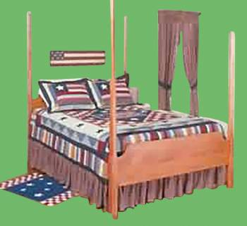<PRE>Dust Ruffle Old Glory Cotton Full Bed Size </PRE>zoom2