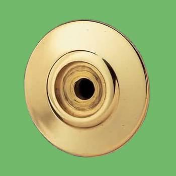 <PRE>Cabinet Knob Rosette Bright Solid Brass 1inch </PRE>zoom2