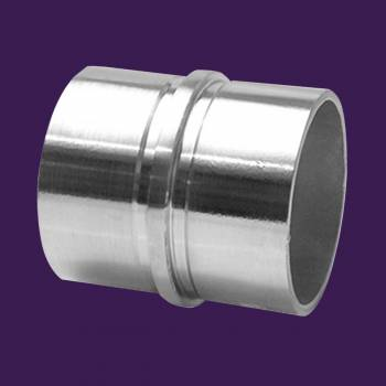 <PRE>Handicap Rail Joint Connector 2inch Stainless Steel </PRE>zoom2