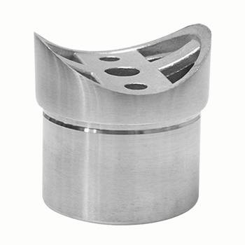 15 Bar Foot Rail Bracket Saddle Tubing Holder Stainless