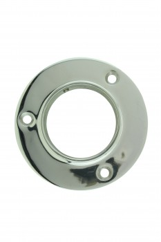 <PRE>4inch Wall Flange 2&quot; OD Bar Foot Rail Tubing Holder Stainless </PRE>zoom3