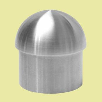 Handicap Rail Or Boat Bar 2 Domed End Cap Stainless Steel Tubing End Caps End Caps for Tubing Railing Caps
