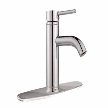 Bathroom Faucet Chrome Single Hole Widespread Plate Cover 21707grid