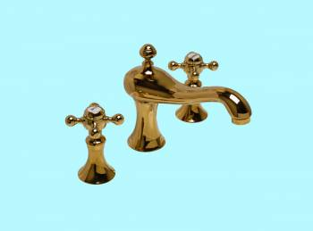 <PRE>8inch Widespread Sink Faucet Heavy Duty Brass PVD </PRE>zoom2