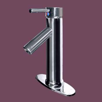 Single Hole Bathroom Sink Faucet Chrome Centerset Plate Faucets Bathroom Faucets Bathroom Sink Faucet