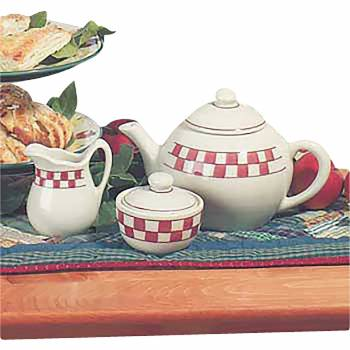 Teapot Stoneware 3 piece set Made in USA