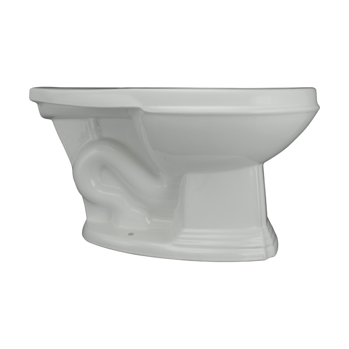 Cherry High Tank Pull Chain Toilet with White Elongated Bowl and Satin Rear Entry High Tank Pull Chain Toilets Elongated Bowl High Tank Toilet Old Fashioned Toilet