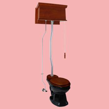 <PRE>High Tank Toilets Mahogany Flat Tank Round High Tank Toilet</PRE>zoom2