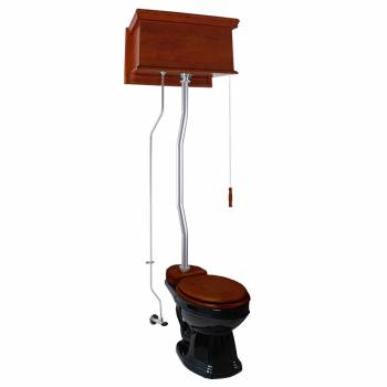 <PRE>High Tank Toilets Mahogany Flat Tank Round High Tank Toilet</PRE>zoom1