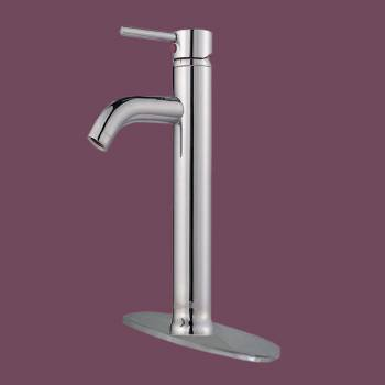 <PRE>Bathroom Faucet Chrome Plated Single Hole 1 Handle 12 3/16 H</PRE>zoom2
