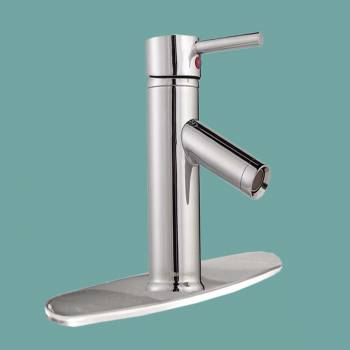 <PRE>Bathroom Faucet Chrome Widespread 1 Handle 12 3/16 H </PRE>zoom2