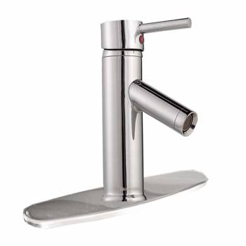 <PRE>Single Hole Bathroom Sink Faucet Chrome Widespread Plate </PRE>zoom1