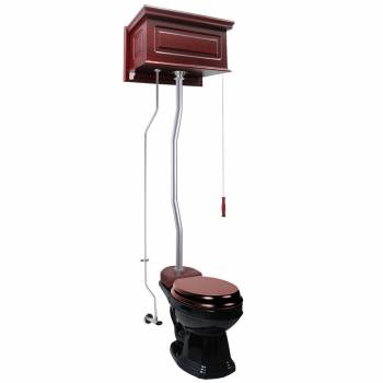 High Tank Toilets Cherry Raised Tank Round High Tank Toilet21817grid