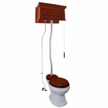 <PRE>High Tank Toilets Mahogany Raised Tank Elongated High Tank Toilet</PRE>zoom1