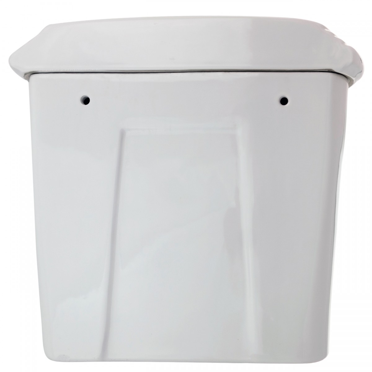White Ceramic Tank High Tank Toilets With Round Bowl and Satin Finish L Pipe High Tank Pull Chain Toilets Round Bowl High Tank Toilet Old Fashioned Toilet