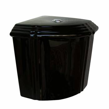 Bathroom Toilet Tank Sheffield Black Ceramic Tank Only 21831grid