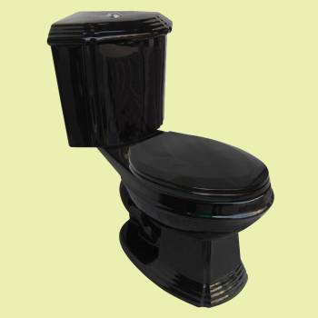 <PRE>Black Ceramic Elongated Space Saving Corner Toilet </PRE>zoom2