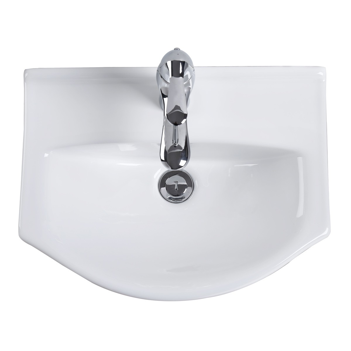 ... U003cPREu003eRenovatoru0027s Supply Small Wall Mount Bathroom Sink White China  Space Saving U003c ...