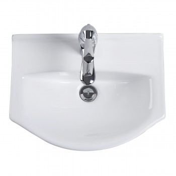 <PRE>Renovator's Supply Small Wall Mount Bathroom Sink White China Space Saving </PRE>zoom4