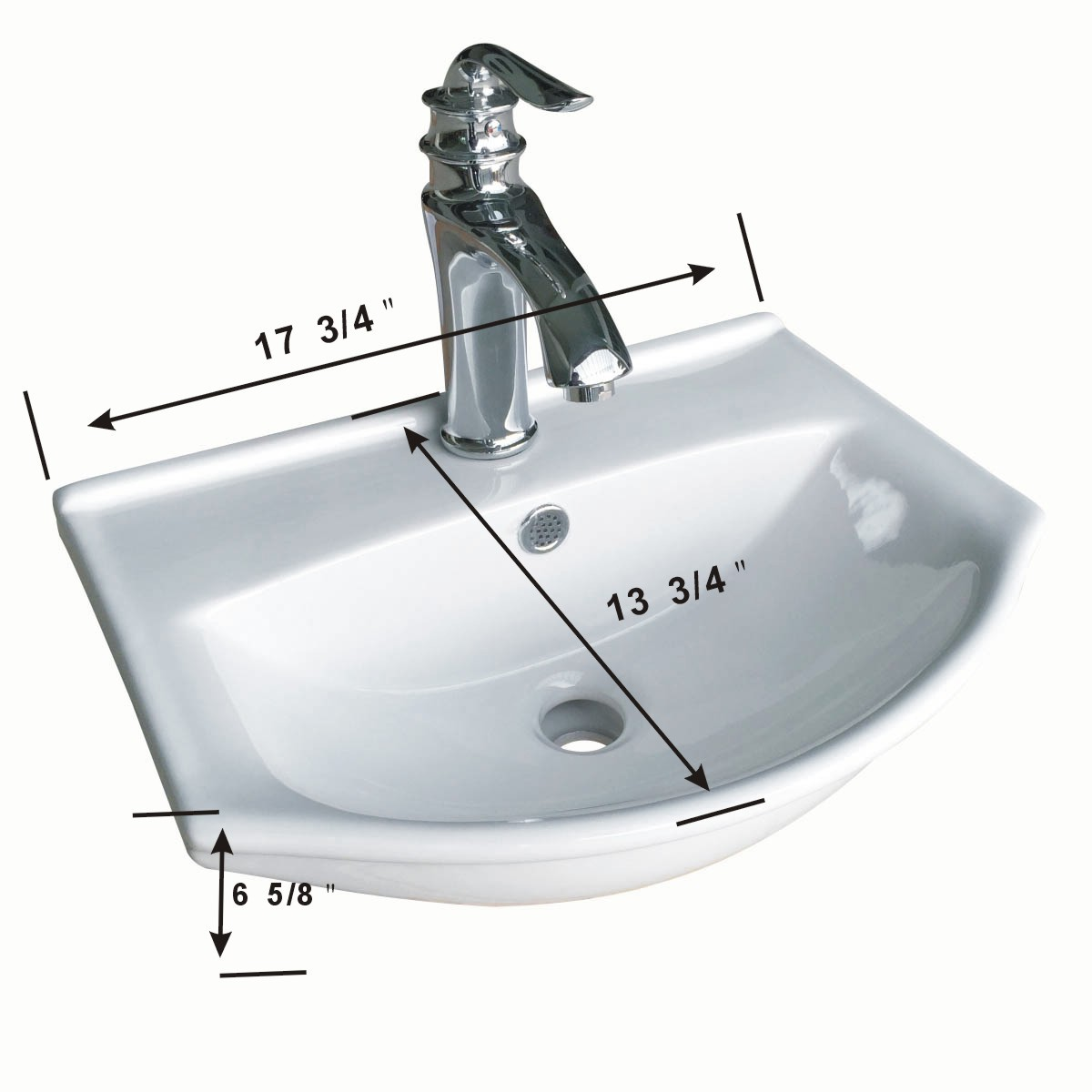 wall mount bathroom sink white china space saving u003c
