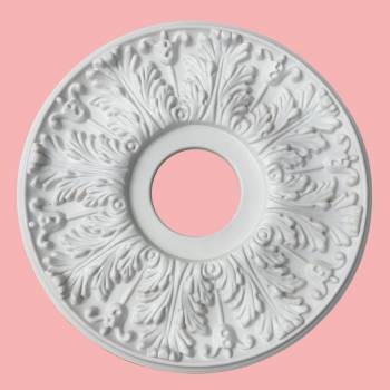 <PRE>Decorative Ceiling Medallion White 15.5 OD </PRE>zoom2