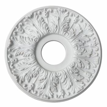 Decorative Ceiling Medallion White 15.5 OD 21860grid