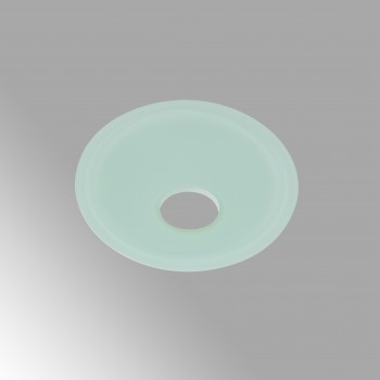 spec-<PRE>Waterfall Faucet Replacement Glass Disc Plate Teal Green </PRE>