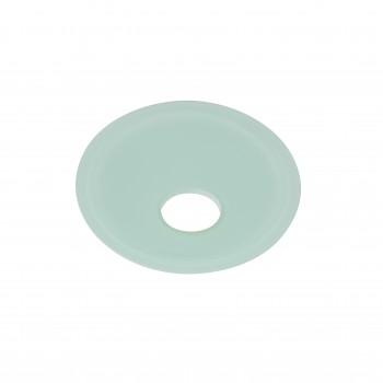 Waterfall Faucet Replacement Glass Disc Plate Teal Green 21861grid