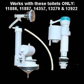 spec-<PRE>Toilet Parts , Replacement Parts Kit for Child Size Toilet </PRE>