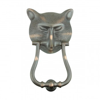 <PRE>Door Knocker Pharaoh Cat Head Cast Brass Oil Rubbed Bronze 8 3/8inch H </PRE>zoom3