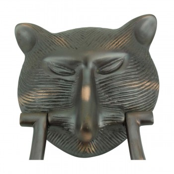 <PRE>Door Knocker Pharaoh Cat Head Cast Brass Oil Rubbed Bronze 8 3/8inch H </PRE>zoom11