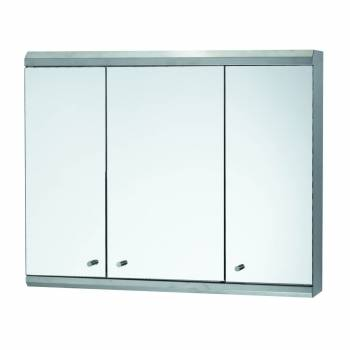 <PRE>48inch Medicine Cabinet Three Door Brushed Stainless Steel </PRE>zoom1