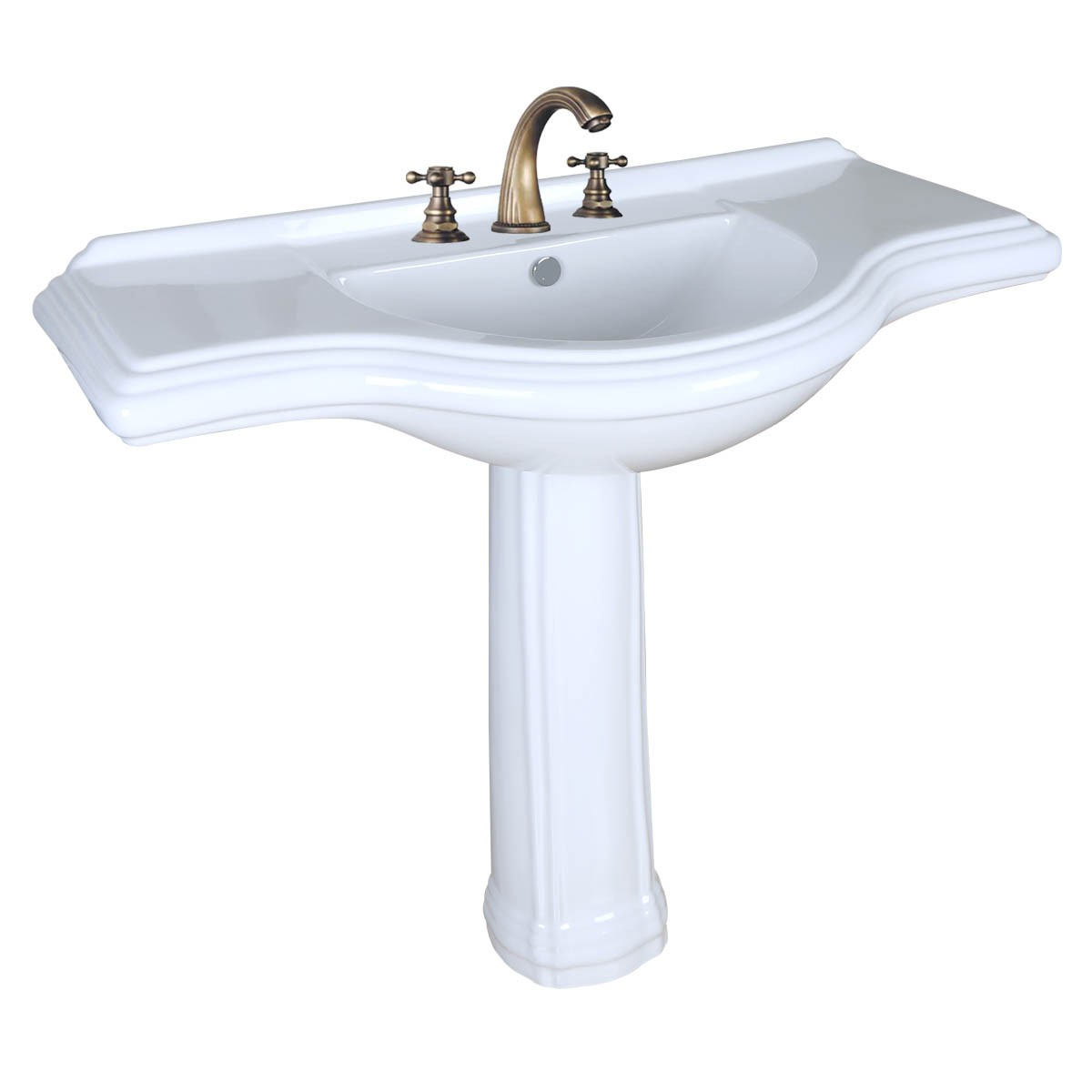 horrible with modern great of sink to charm bathroom image cerchio larger rc together sinks size see pedestal click large in