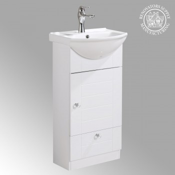 <PRE>Vitreous China Small Vanity Sink For Bathroom With Faucet Cabinets Easy Assemble</PRE>