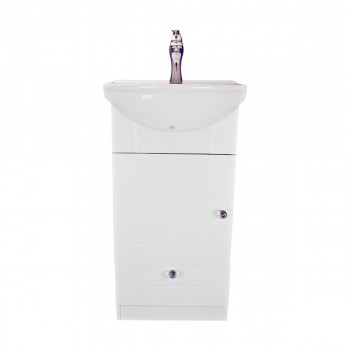 <PRE>18inch Small Bathroom Vanity Cabinet Sink with Faucet and Drain Renovator's Supply</PRE>zoom3