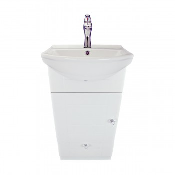 <PRE>18inch Small Bathroom Vanity Cabinet Sink with Faucet and Drain Renovator's Supply</PRE>zoom4