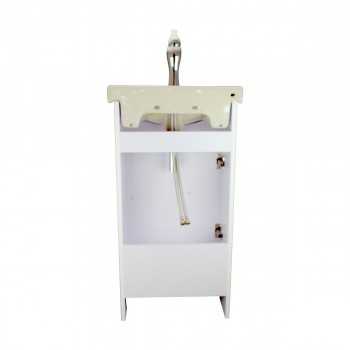 <PRE>18inch Small Bathroom Vanity Cabinet Sink with Faucet and Drain Renovator's Supply</PRE>zoom7