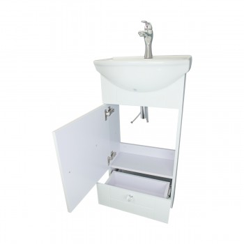 <PRE>18inch Small Bathroom Vanity Cabinet Sink with Faucet and Drain Renovator's Supply</PRE>zoom12
