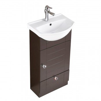 <PRE>Renovator's Supply Bathroom Vanity Cabinet Sink with Faucet and Drain Combo</PRE>zoom4