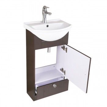 <PRE>Renovator's Supply Bathroom Vanity Cabinet Sink with Faucet and Drain Combo</PRE>zoom7