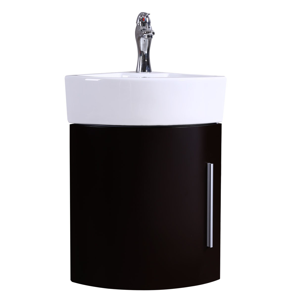 White and Black Wall Mount Corner Bathroom Vanity Cabinet Sink Bathroom Cabinet Sink Vanity Sinks For Bathrooms Wall Mount Cabinet Sink