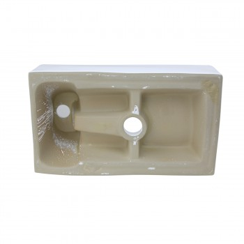 <PRE>Small White Vanity Bathroom Sink Black Cabinet with Faucet and Drain Wall Mount</PRE>zoom9