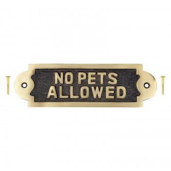 Brass Sign Plate Brass Plaque Antique Brass Sign