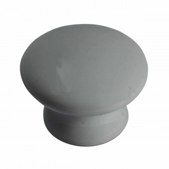 <PRE>Cabinet Knob White Porcelain 1inch Dia </PRE>zoom3