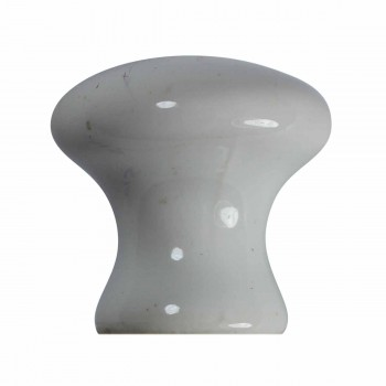 <PRE>Cabinet Knob White Porcelain 1inch Dia </PRE>zoom6