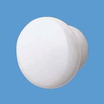 <PRE>Cabinet Knob White Porcelain Plain Pull 2inch D </PRE>zoom2