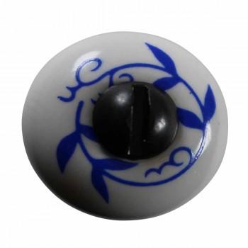 <PRE>Cabinet Knob White Porcelain 3/4inch Dia </PRE>zoom4